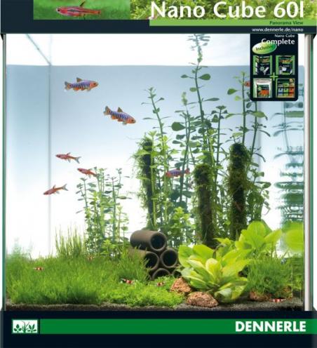 Аквариум Dennerle NanoCube Complete 60 литров Полный комплект