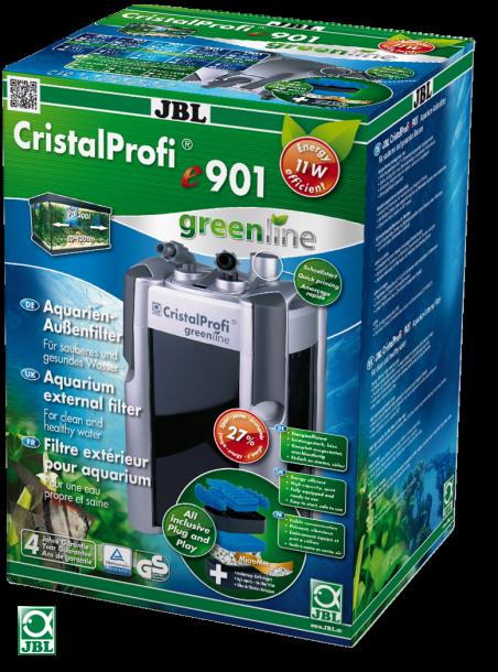 JBL CristalProfi e901 greenline. Экономичный внешний фильтр для аквариума 90–300 л