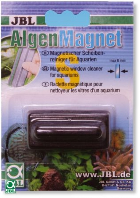 JBL Algenmagnet S - Магнитный скребок для стекол толщиной до 6 мм