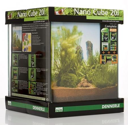 Аквариум Dennerle NanoCube Complete PLUS 20 литров Полный комплект Плюс