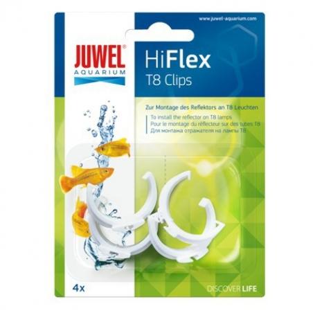 Зажимы для отражателей Juwel Hiflex под Т8 (26мм) лампы