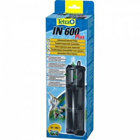 Фильтр внутренний Tetra Tetra IN plus 600 для аквариумов от 50 до 100 л.