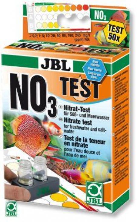 JBL Nitrat Test-Set - Тест для определения содержания нитратов (NO3) в пресной и морской воде